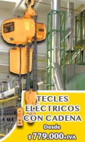 Tecle Eléctricos Fijos Con Cadena - EL TECLE .CL SAMO.CL