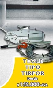 Tecle Tipo Tirfor - EL TECLE .CL SAMO.CL