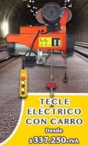 Tecles Eléctricos con Carro Eléctrico - EL TECLE .CL SAMO.CL