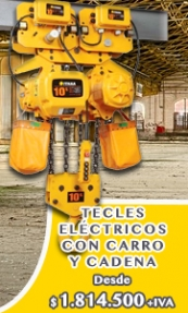 Tecles Eléctricos con Carro Con Cadena - EL TECLE .CL SAMO.CL
