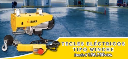 Tecle Eléctricos Fijos Con Cable de Acero EL TECLE .CL SAMO.CL